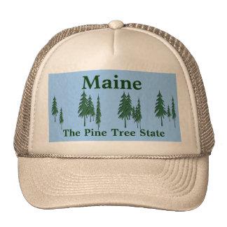 Maine, The Pine Tree State Cap