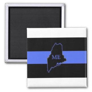 Maine Thin Blue Line magnet