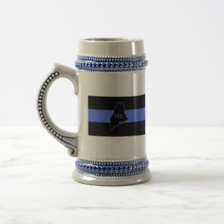 Maine Thin Blue Line Stein