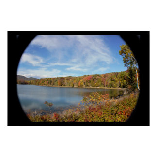 Maine Wide Angle Photo Poster