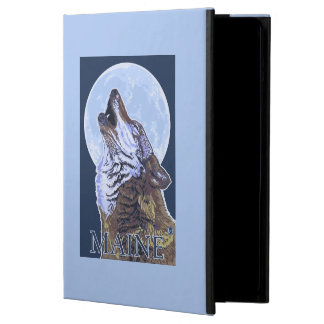 MaineHowling Wolf iPad Air Covers