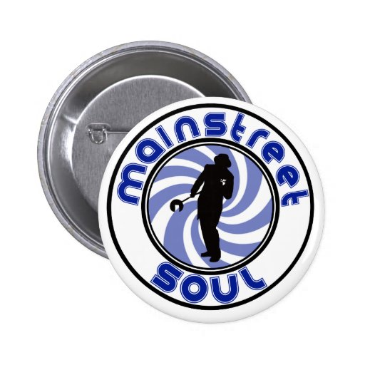 Mainstreet Soul Standard, 2¼ Inch Round Button