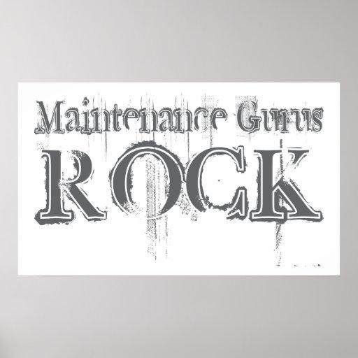 Maintenance Gurus Rock Posters