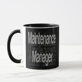 Maintenance Manager Extraordinaire Mug