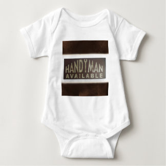 maintenance tools Construction Worker Handyman Baby Bodysuit
