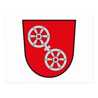 Mainz Coat of Arms Postcard