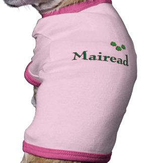 Mairead Irish Name Doggie Shirt