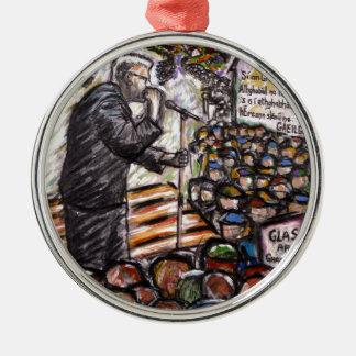 mairtin o cadhain christmas ornament