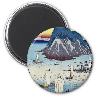 Maisaka by Ando, Hiroshige Ukiyoe Refrigerator Magnets
