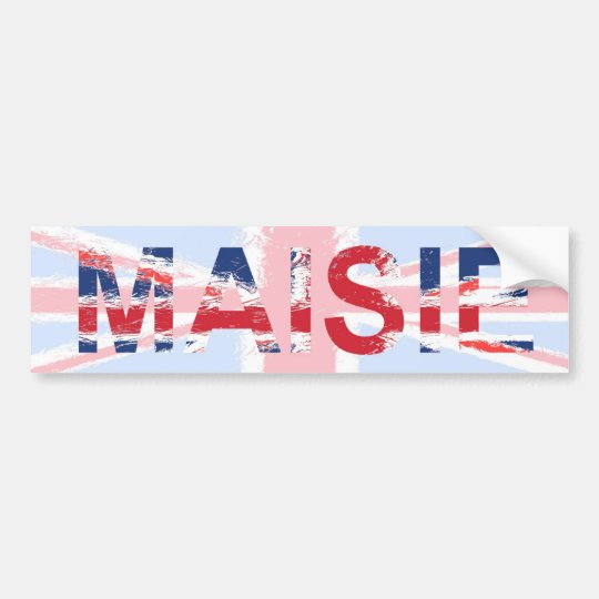 Maisie Bumper Sticker