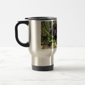 Maisie in the Flowerbed Commuter Travel Mug