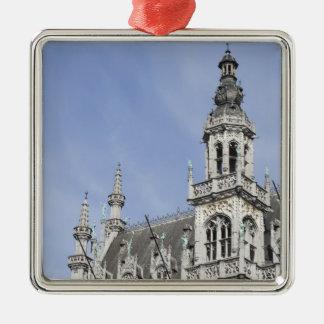 Maison du Roi, Brussels, Belgium Silver-Colored Square Decoration