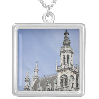 Maison du Roi, Brussels, Belgium Silver Plated Necklace