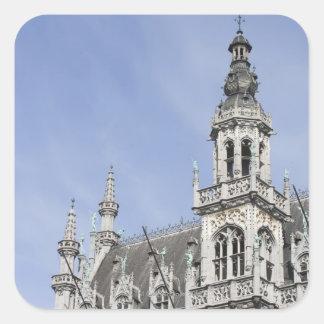 Maison du Roi, Brussels, Belgium Square Sticker