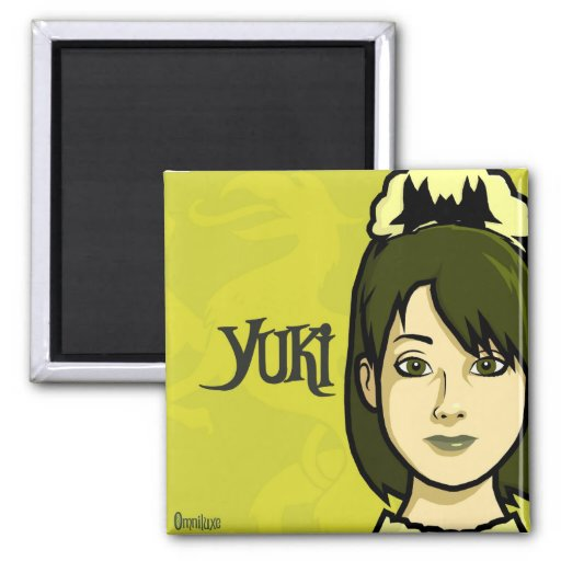 Maison Hanté Series 2 - Yuki Fridge Magnet