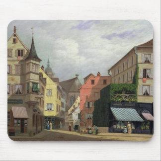 Maison Mathieu, Grand-Rue, Colmar, 1876 Mouse Pad