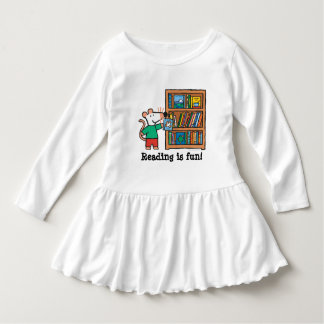 Maisy and a Bookshelf of Books Dress