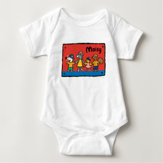 Maisy and Best Friends Hold Hands Baby Bodysuit