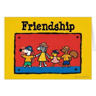 Maisy and Best Friends Hold Hands Card