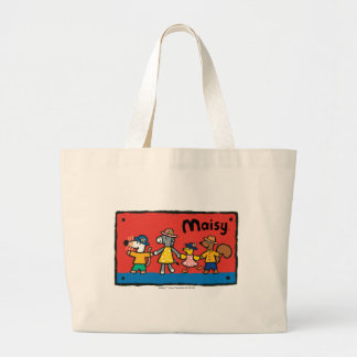 Maisy and Best Friends Hold Hands Large Tote Bag