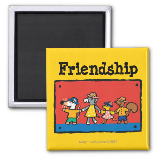 Maisy and Best Friends Hold Hands Magnet