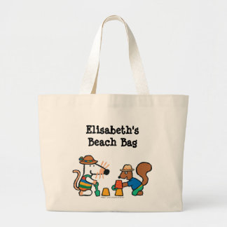 Maisy and Cyril Build a Sand Castle Jumbo Tote Bag