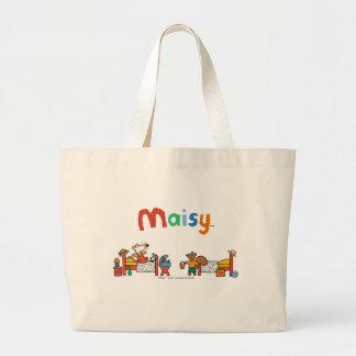 Maisy and Cyril Go on Vacation Scene Jumbo Tote Bag