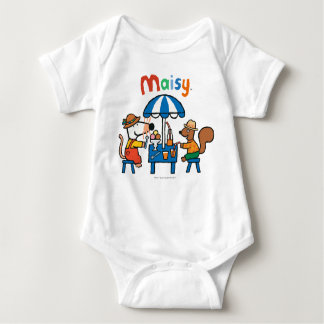 Maisy and Cyril Snacktime at the Beach Baby Bodysuit