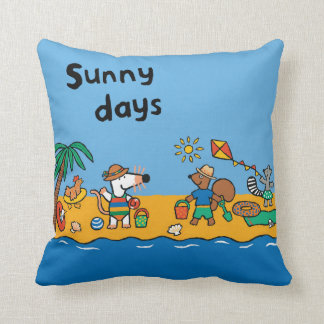 Maisy and Friends at the Beach Cushion