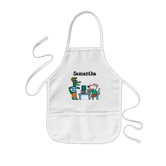 Maisy and Friends Enjoy the Library Kids Apron