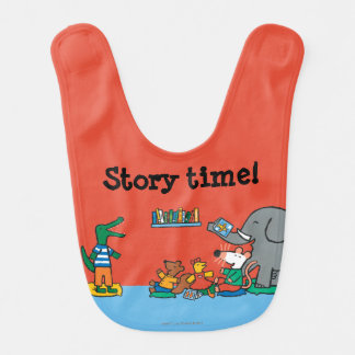 Maisy and Friends Laugh at Story Time Bib