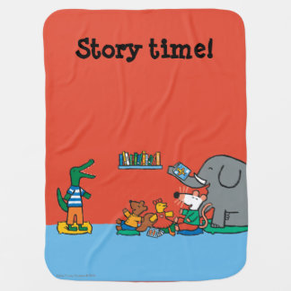 Maisy and Friends Laugh at Story Time Buggy Blankets
