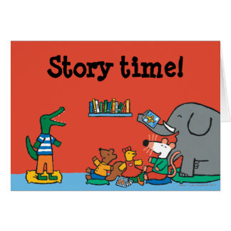 Maisy and Friends Laugh at Story Time Card