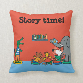 Maisy and Friends Laugh at Story Time Cushion