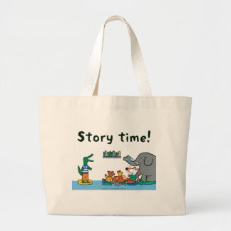 Maisy and Friends Laugh at Story Time Jumbo Tote Bag