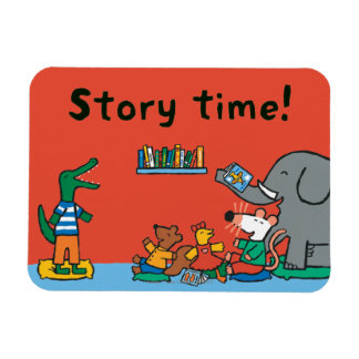 Maisy and Friends Laugh at Story Time Magnet