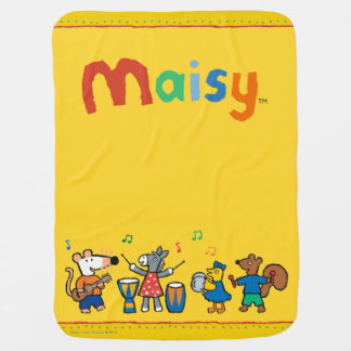 Maisy and Friends Play in the Band Baby Blankets