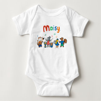 Maisy and Friends Play in the Band Baby Bodysuit