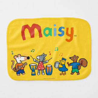 Maisy and Friends Play in the Band Burp Cloth