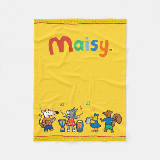 Maisy and Friends Play in the Band Fleece Blanket