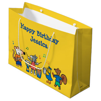 Maisy and Friends Play in the Band Large Gift Bag