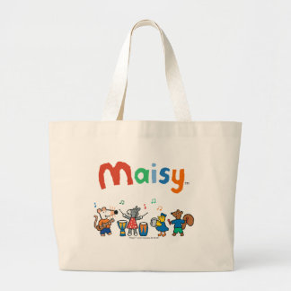 Maisy and Friends Play in the Band Large Tote Bag