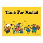 Maisy and Friends Play in the Band Postcard