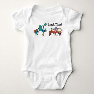 Maisy and Friends Preschool Snack Time Baby Bodysuit