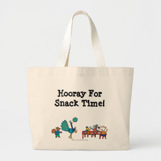 Maisy and Friends Preschool Snack Time Large Tote Bag
