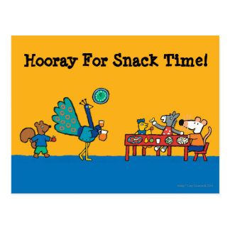 Maisy and Friends Preschool Snack Time Postcard