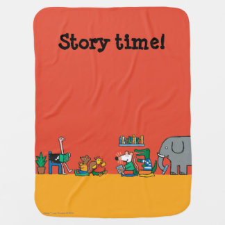 Maisy and Friends Read Together Buggy Blankets