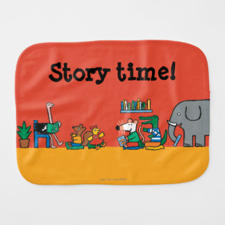 Maisy and Friends Read Together Burp Cloth