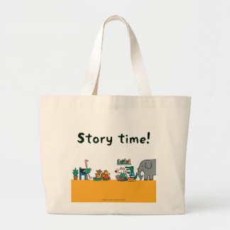 Maisy and Friends Read Together Large Tote Bag