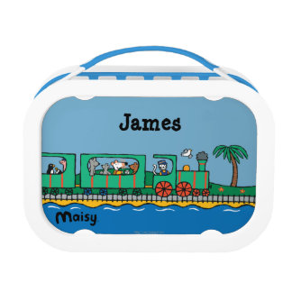 Maisy and Friends Ride on Green Train Lunch Box